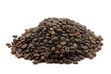 Canvas Prints Coffee beans Le café en grains