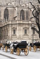 Kathedrale in Sevilla