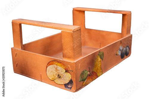Cassetta in legno decoupage immagini e fotografie royalty free su file 20925875 - Decoupage su mobili in legno ...