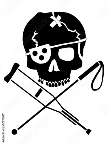 No Jackass Pirate Logo Tattoo Stock Photo And Royalty Free Images
