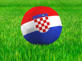 WM Football Kroatien
