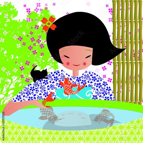 Carpes japonaise 2010 fichier vectoriel libre de droits for Acheter des carpes