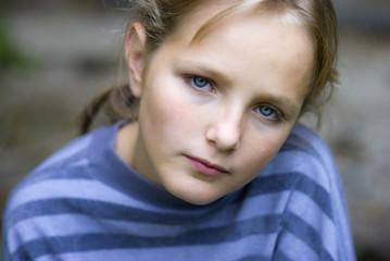 Little seriou girl