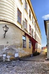 Wall Mural - Narrow street