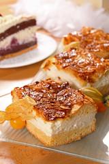 bienenstich,bee sting cake
