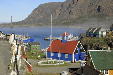 Greenland's second oldest church in Sisimiut.