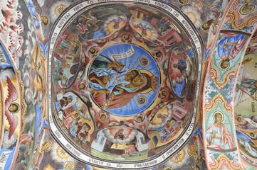 Monastery interior - paintings