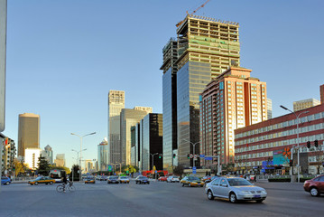 Foto op Plexiglas Beijing China Beijing, street scene