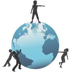 Earth Kids move save the world to future