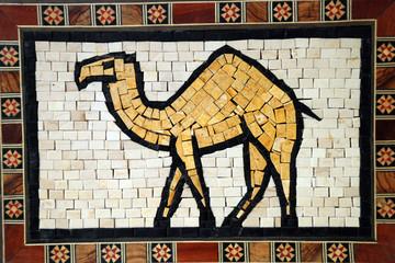 Gerahmtes Mosaik, Jordanien
