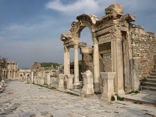 Ephesus: Kuretenstraße, Hadrian Tempel und Celsus Bibliothek