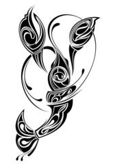 Sign of Cncer.Tattoo design