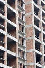 Under Construction Apartment Building