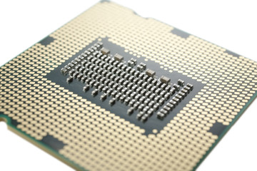 CPU close up