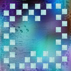Grunge frameworks for invitation on the vintage abstract backgro