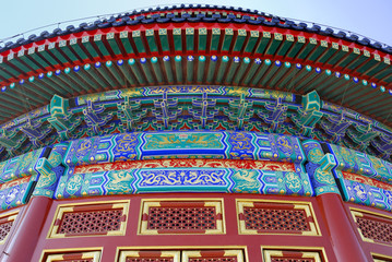 China, Beijing the ancient temple of Heaven.