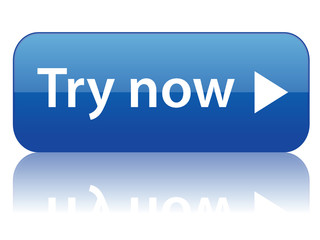 """Try Now"" rectangular web button (online internet product)"