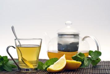 thé citron - menthe
