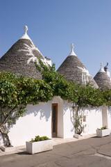 Trulli houses in Alberobello (Apulia)