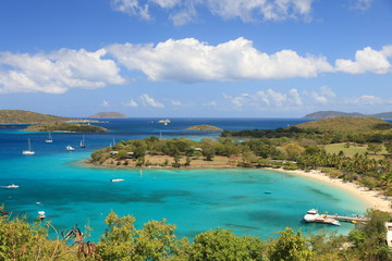 US Virgin Islands are true paradise in the Caribbean