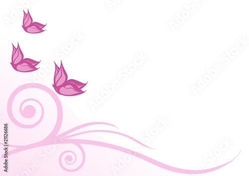 Sfondo Farfalle Rosa Stock Image And Royalty Free Vector Files On
