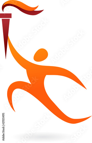 Olympics torch logo free vector search engine