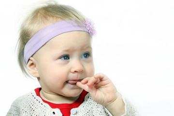 Baby Girl wondering