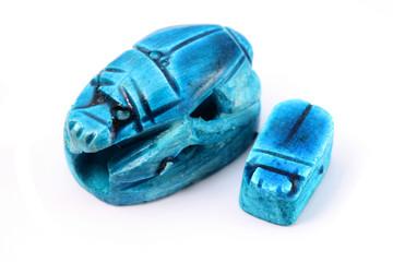 Present of travel. Egyptian beetle Scarab