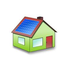 Solarstrom Haus