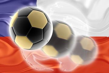 Chile flag wavy soccer website