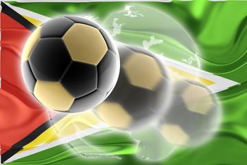Flag of Guyana wavy soccer website
