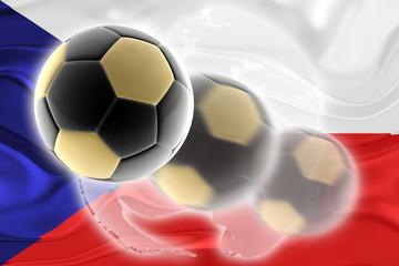 Czechoslovakia flag wavy soccer website
