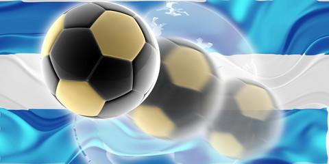 Flag of Honduras wavy soccer website
