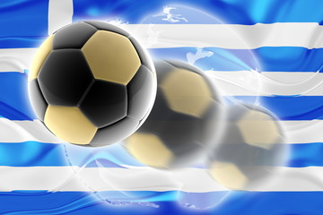 Flag of Greece wavy soccer website