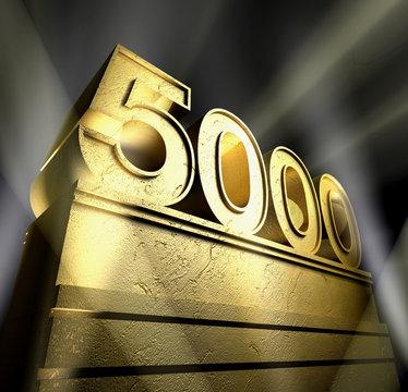 5000 celebration anniversary