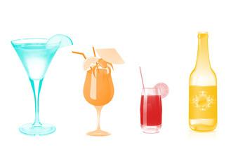 Cocktails und Bier