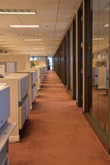 Line of Cubicles