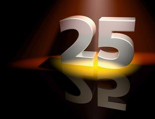 25 birthday anniversary celebration