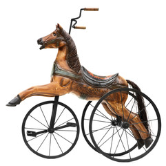 Old Horse Tricycle Bike