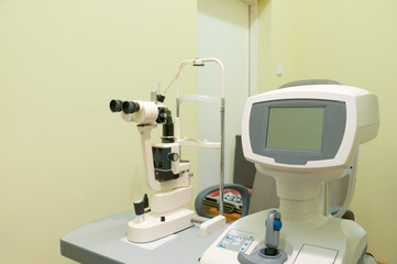 Ophthalmic computer equipment.
