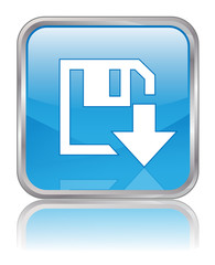 DOWNLOAD Web Button (Internet Online Save Free Click Blue Vector
