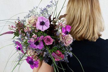 lila Frühlingsgrüsse