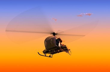 Civilian helicopter