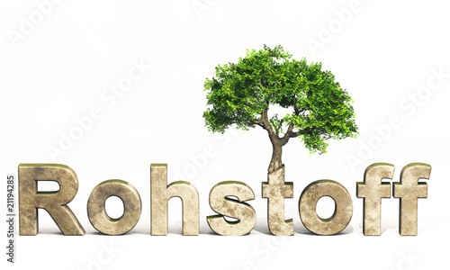 3d baum und text rohstoff holz stockfotos und. Black Bedroom Furniture Sets. Home Design Ideas