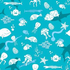 Underwater wild life