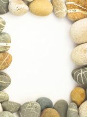 Sea stones border