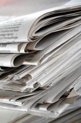 Tageszeitung Newspaper Papier und Altpapier