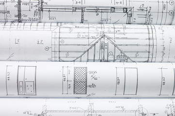 Rolls of Engineering Drawings