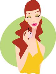 woman lifes-perfume