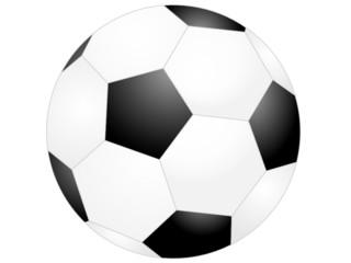 Fußball Vektorgrafik